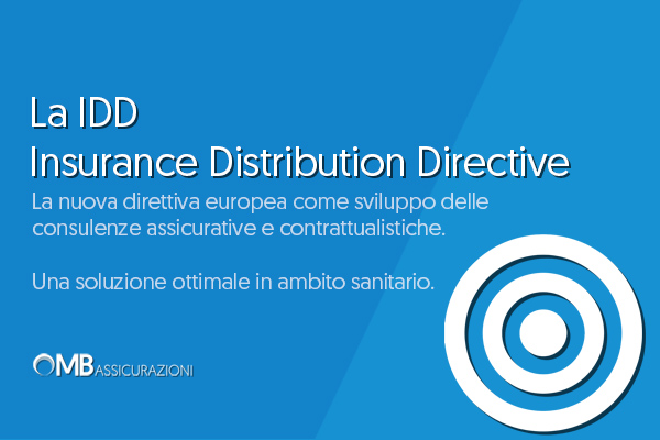 La IDD Insurance Distribution Directive