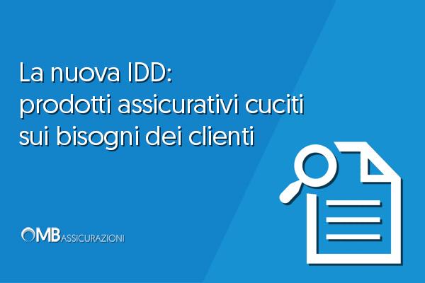 La nuova IDD: prodotti assicurativi cuciti sui bisogni dei clienti